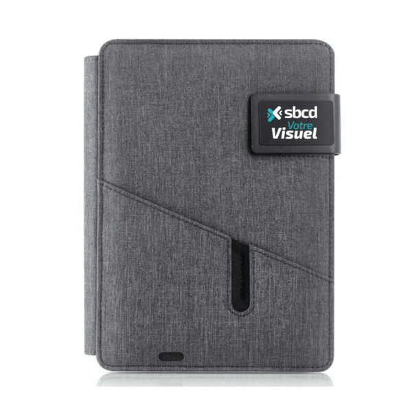 Notebook avec powerbank intégré batterie de secours